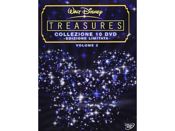 画像1: イタリア語などで観るディズニーコレクション「Treasures 限定版」vol.2 DVD 10枚組【A2】【B1】