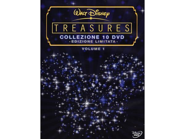 画像1: イタリア語などで観るディズニーコレクション「Treasures 限定版」vol.1 DVD 10枚組【A2】【B1】
