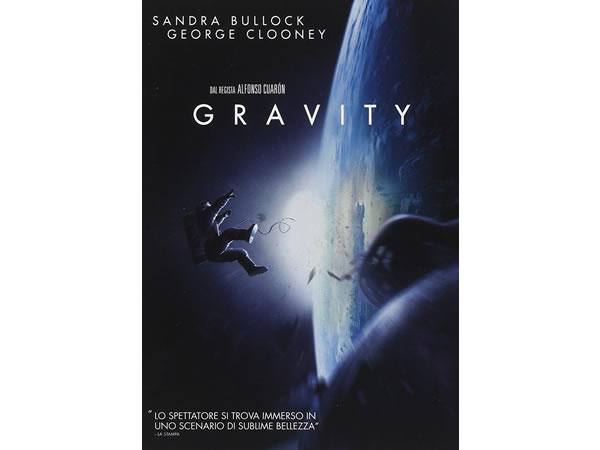 画像1: イタリア語などで観るサンドラ・ブロックの「ゼロ・グラビティ」 DVD  【B1】【B2】