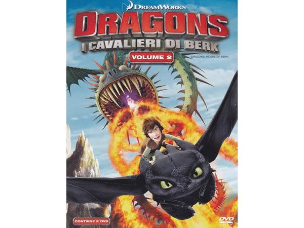 画像1: イタリア語などで観る「ヒックとドラゴン I Cavalieri Di Berk #02」 DVD 2枚組【B1】【B2】【C1】