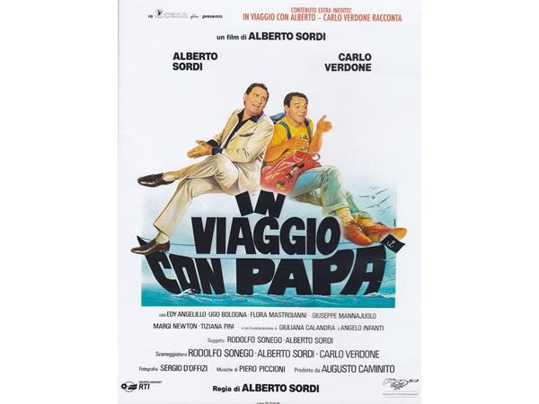 画像1: イタリア語で観るイタリア映画 アルベルト・ソルディ&カルロ・ヴェルドーネ「In Viaggio Con Papa'」 DVD  【B2】【C1】