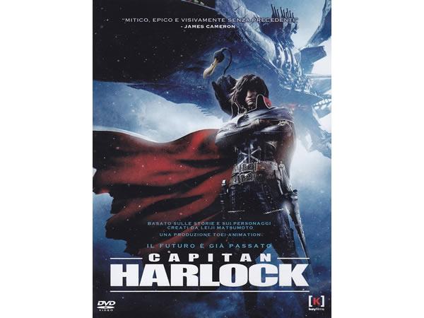画像1: イタリア語で観る、松本零士の「キャプテンハーロック -SPACE PIRATE CAPTAIN HARLOCK-」DVD【B1】【B2】