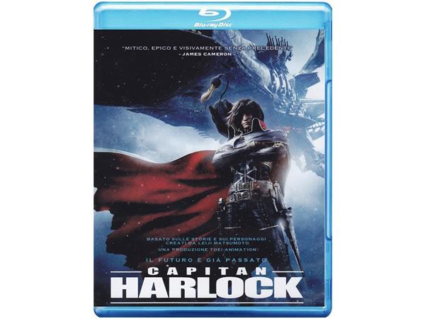 画像1: イタリア語で観る、松本零士の「キャプテンハーロック -SPACE PIRATE CAPTAIN HARLOCK-」Blu-ray 【B1】【B2】