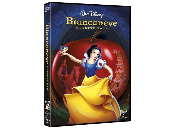画像1: イタリア語などで観るディズニーの「白雪姫」 DVD【A2】【B1】