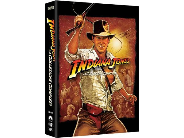 画像1: イタリア語などで観る「インディ・ジョーンズ シリーズ コンプリート」 DVD 5枚組【A2】【B1】