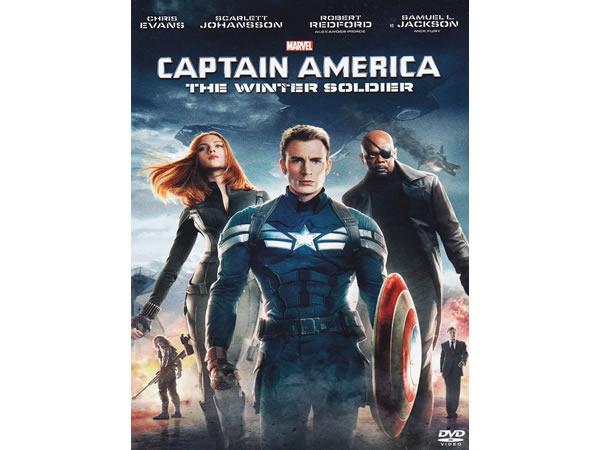 画像1: イタリア語などで観るクリス・エヴァンスの「キャプテン・アメリカ/ウィンター・ソルジャー」 DVD  【B1】【B2】【C1】