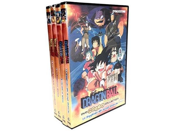 画像1: イタリア語で観る、鳥山明の「ドラゴンボール」ムービーコレクション vol.1 DVD 4枚組 【B1】