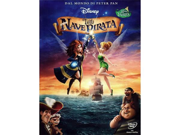 イタリア語, ドイツ語, 英語, トルコ語で観るアニメ 「ティンカー・ベルとネバーランドの海賊船 The Pirate Fairy」DVD