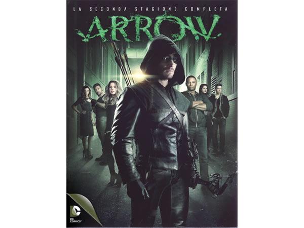 画像1: イタリア語などで観る スティーヴン・アメルの「ARROW/アロー  シーズン2」 DVD 5枚組  【B2】【C1】