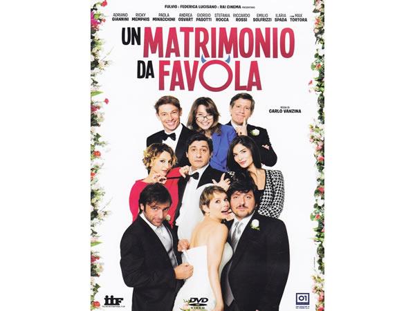 画像1: イタリア語、英語で観るイタリア映画「Un matrimonio da favola」 DVD【B2】【C1】