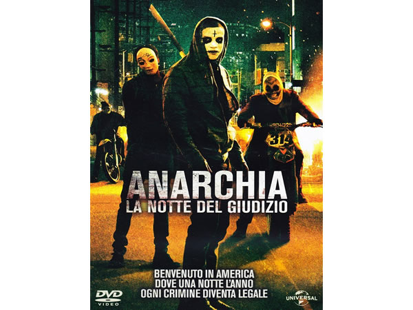 画像1: イタリア語などで観るジェームズ・デモナコの「ザ・パージ: アナーキー」 DVD  【B1】【B2】