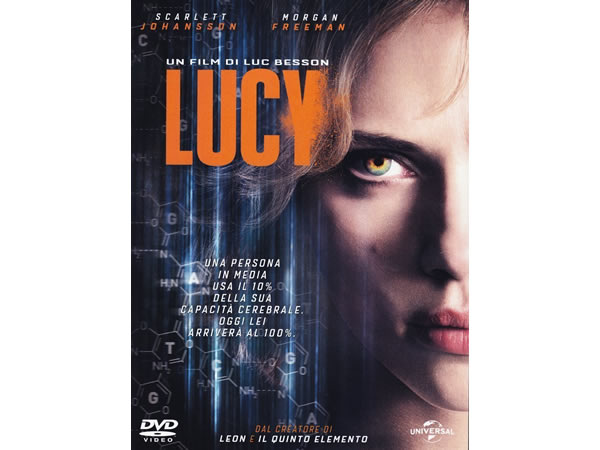 画像1: イタリア語などで観るスカーレット・ヨハンソンの「LUCY/ルーシー」 DVD  【B1】【B2】