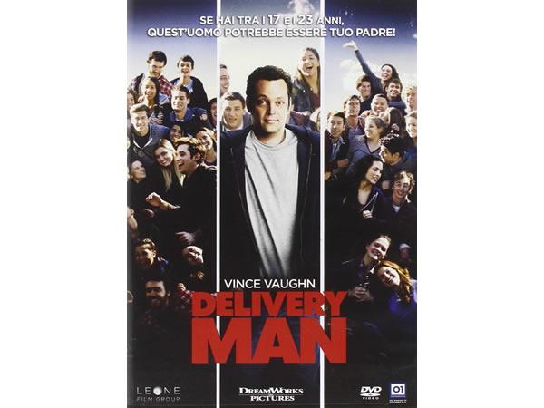 画像1: イタリア語、英語で観るヴィンス・ヴォーンの「デリバリー・マン」 DVD 【B1】【B2】【C1】