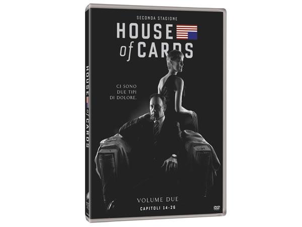 画像1: イタリア語などで観るケヴィン・スペイシーの「ハウス・オブ・カード 野望の階段 シーズン2」 DVD 4枚組  【B2】【C1】