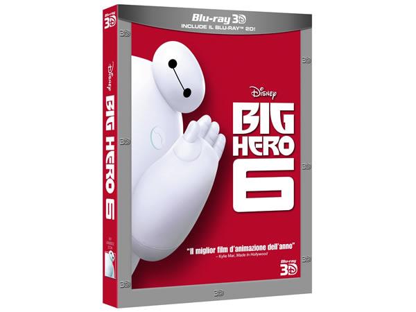 画像1: イタリア語などで観るディズニーの「ベイマックス ビッグ・ヒーロー・シックス」Blu-ray【A2】【B1】