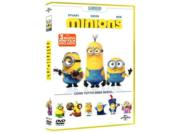 イタリア語などで観る「ミニオンズ Minions」 DVD