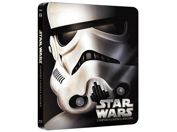 画像1: イタリア語などで観る「スター・ウォーズ エピソード5/帝国の逆襲」 Blu-ray スチールブック 【B1】【B2】【C1】