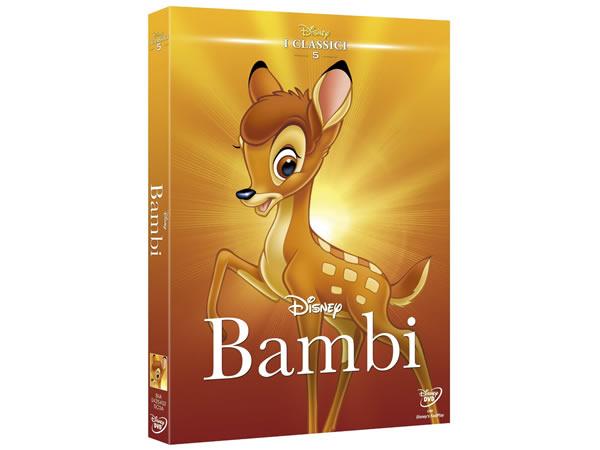 画像1: イタリア語で観るディズニーの「バンビ」 DVD コレクション 5【A2】【B1】
