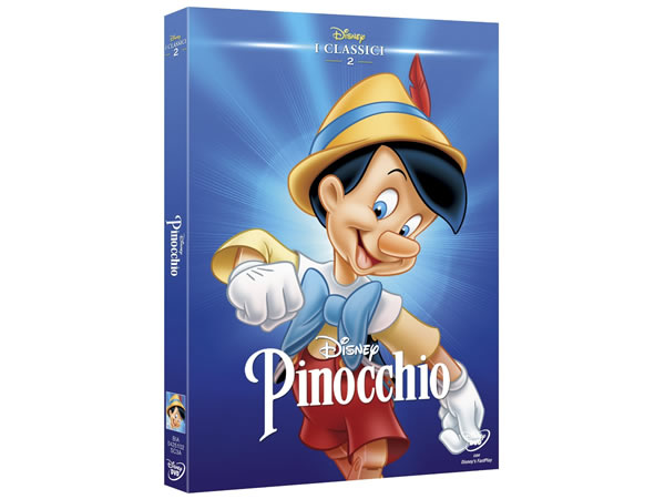 画像1: イタリア語で観るディズニーの「ピノキオ」 DVD コレクション 2 ピノッキオ【A2】【B1】