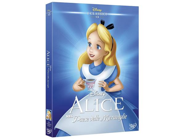画像1: イタリア語で観るディズニーの「ふしぎの国のアリス」 (1951)  DVD コレクション 13【A2】【B1】