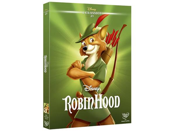 画像1: イタリア語で観るディズニーの「ロビン・フッド」 DVD コレクション 21【A2】【B1】