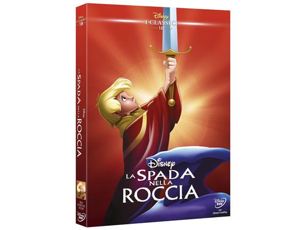 画像1: イタリア語で観るディズニーの「王様の剣」 DVD コレクション 18【A2】【B1】