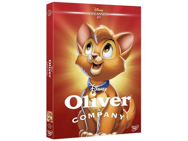 画像1: イタリア語で観るディズニーの「オリバー ニューヨーク子猫ものがたり」 DVD コレクション 27【A2】【B1】
