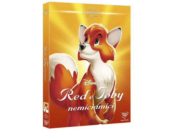 画像1: イタリア語で観るディズニーの「きつねと猟犬」 DVD コレクション 24【A2】【B1】