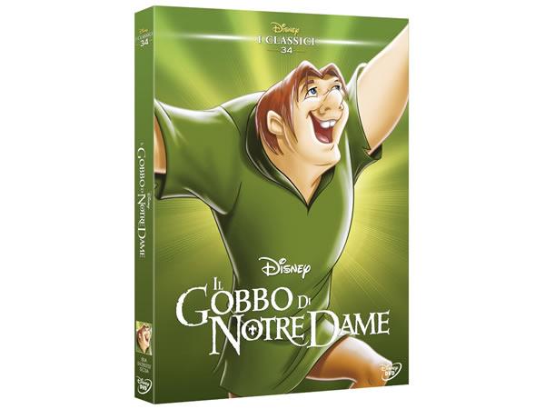 画像1: イタリア語で観るディズニーの「ノートルダムの鐘」 コレクション 34 DVD【A2】【B1】