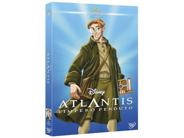 画像1: イタリア語で観るディズニー「アトランティス 失われた帝国」 DVD コレクション 40【B1】【B2】