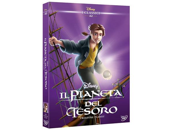 画像1: イタリア語で観るディズニーの「トレジャー・プラネット」 DVD コレクション 42【A2】【B1】