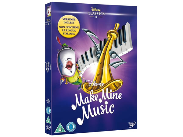 画像1: 英語で観るディズニーの「メイク・マイン・ミュージック」 DVD コレクション 8【A2】【B1】