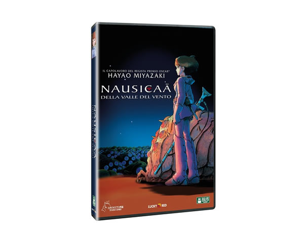 画像1: イタリア語で観る、宮崎駿の「風の谷のナウシカ」DVD【B1】