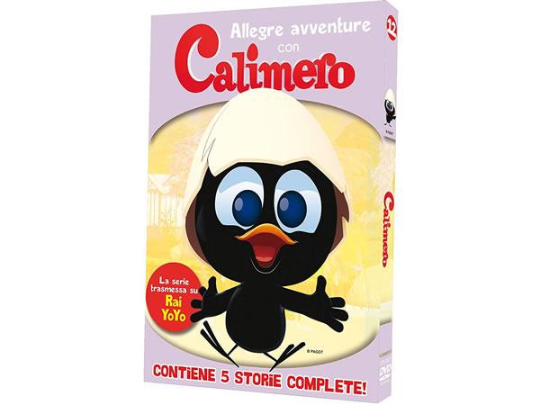 画像1: イタリア語で観るイタリアのアニメ映画「カリメロ」 12巻 DVD【A2】【B1】