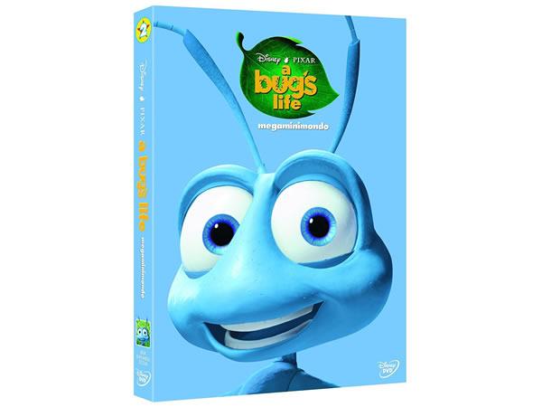 画像1: イタリア語などで観るディズニー&ピクサーの「バグズ・ライフ」 DVD【A2】【B1】