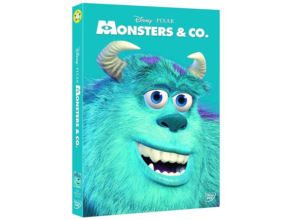 画像1: イタリア語などで観るディズニー&ピクサーの「モンスターズ・インク」 DVD【A2】【B1】
