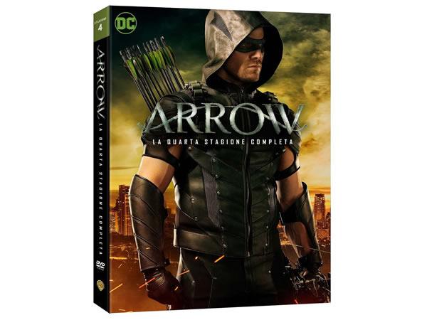 画像1: イタリア語などで観る スティーヴン・アメルの「ARROW/アロー  シーズン4」 DVD 5枚組  【B2】【C1】