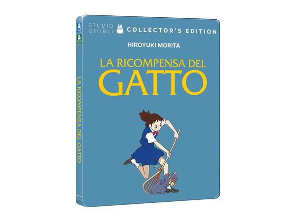 画像1: イタリア語で観る、森田宏幸の「猫の恩返し」DVD+Blu-Ray コレクターズエディション【B1】