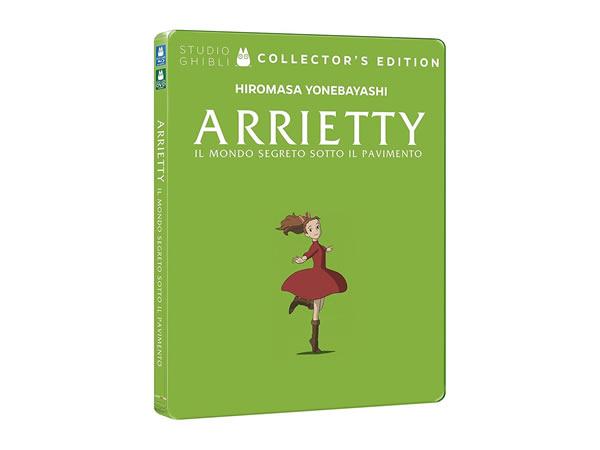 画像1: イタリア語で観る、高畑勲の「借りぐらしのアリエッティ」DVD+Blu-Ray コレクターズエディション【B1】
