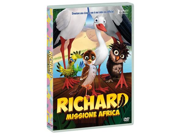 画像1: イタリア語などで観るレザ・メマリの「リチャード・ザ・ストーク 飛べないワタリドリ」 DVD【B1】【B2】