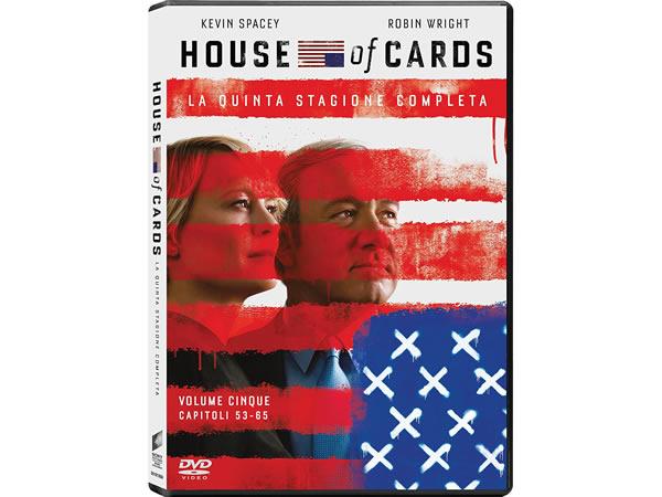 画像1: イタリア語などで観るケヴィン・スペイシーの「ハウス・オブ・カード 野望の階段 シーズン5」 DVD 4枚組  【B2】【C1】