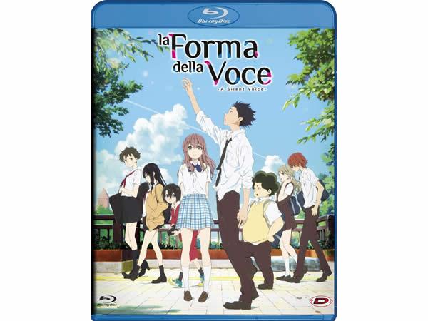 画像1: イタリア語で観る日本のアニメ映画、山田尚子、大今良時の「聲の形」Blu-ray 【B1】