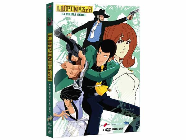 画像1: イタリア語で観る、高畑勲、宮崎駿の「ルパン三世 シーズン1」 DVD 5枚組 【B1】