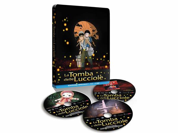 画像1: イタリア語で観る、高畑勲の「火垂るの墓」 Blu-ray + DVD 【B1】