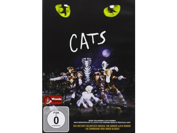 画像1: イタリア語などで観るミュージカル「キャッツ」 DVD  【B1】【B2】【C1】