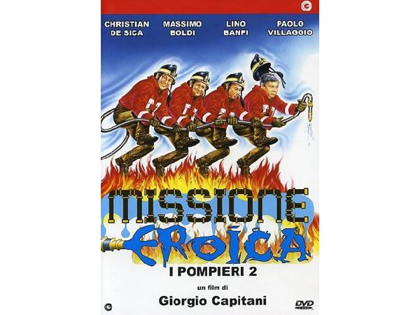 画像1: イタリアのコメディ映画Paolo Villaggio 「Missione Eroica - I Pompieri 2」DVD 【A1】【A2】【B1】