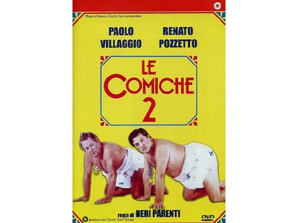 画像1: イタリアのコメディ映画Paolo Villaggio 「Le Comiche 2」DVD 【A1】【A2】【B1】