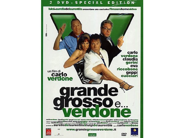 画像1: イタリアのコメディ映画「Grande Grosso E Verdone」 DVD  【B2】【C1】