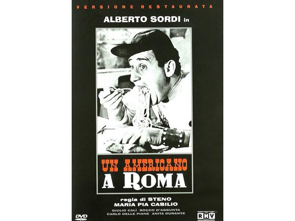 画像1: イタリア語で観るイタリア映画 アルベルト・ソルディ 「Un Americano A Roma」 DVD  【B2】【C1】