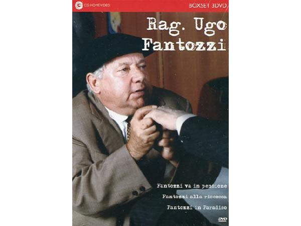 画像1: イタリアのコメディ映画Ugo Fantozzi 「Fantozzi Collection」DVD 3枚組【A1】【A2】【B1】